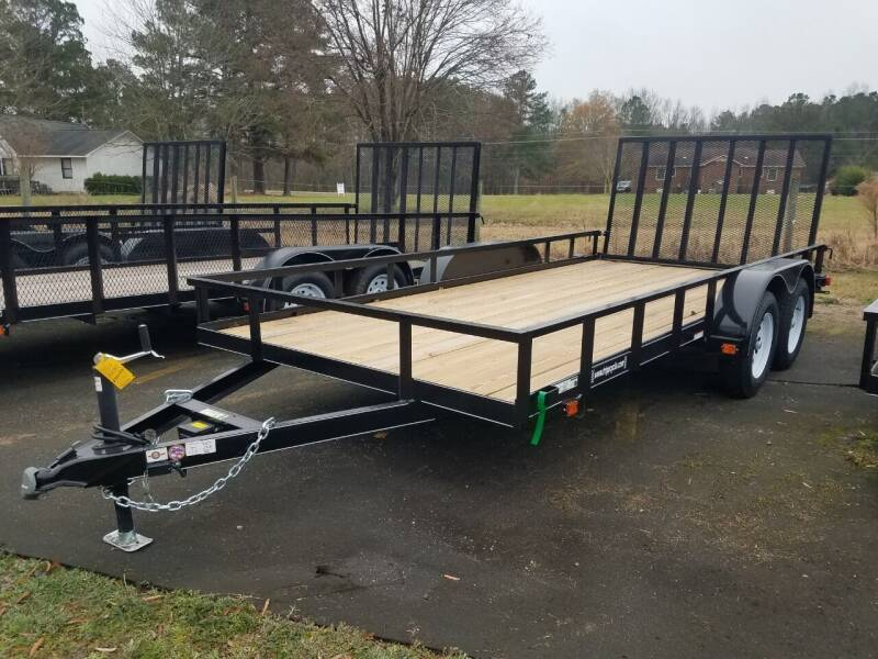 2020 New Carry-On 7x16 GW 1BRK Trailer for sale at Tripp Auto & Cycle Sales Inc in Grimesland NC