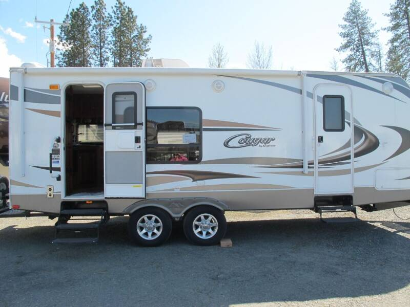 2012 COUGAR 24RKS for sale at Oregon RV Outlet LLC - Travel Trailers in Grants Pass OR