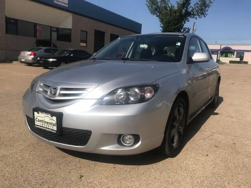 2005 Mazda MAZDA3 for sale at BJ International Auto LLC in Dallas TX