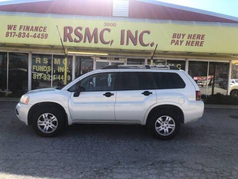 2008 Mitsubishi Endeavor for sale at Ron Self Motor Company in Fort Worth TX