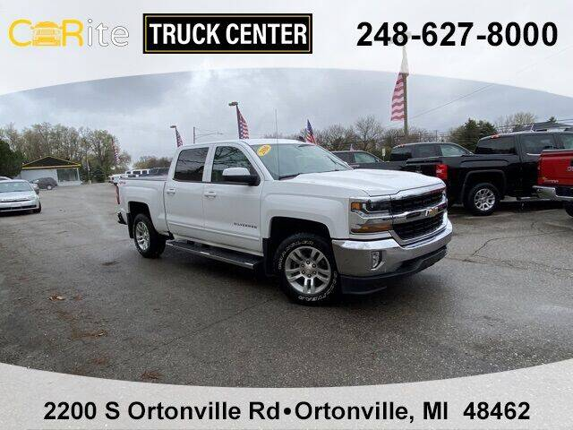 2016 Chevrolet Silverado 1500 for sale at Carite Truck Center in Ortonville MI