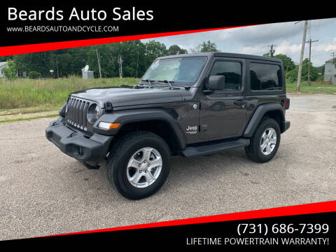 2020 Jeep Wrangler for sale at Beards Auto Sales in Milan TN