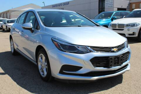 2017 Chevrolet Cruze for sale at SHAFER AUTO GROUP in Columbus OH