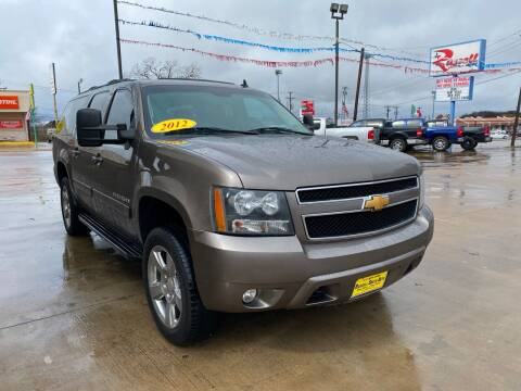 2012 Chevrolet Suburban for sale at Russell Smith Auto in Fort Worth TX
