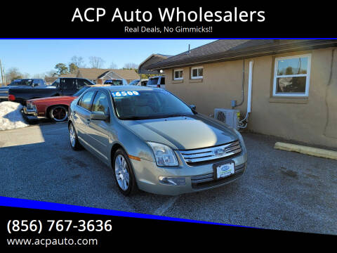 2009 Ford Fusion for sale at ACP Auto Wholesalers in Berlin NJ