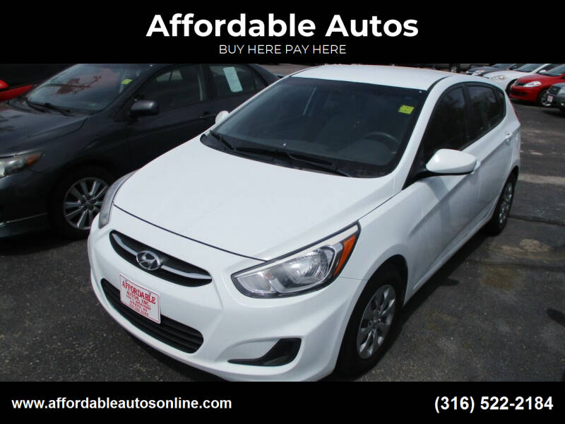 2016 Hyundai Accent for sale at Affordable Autos in Wichita KS