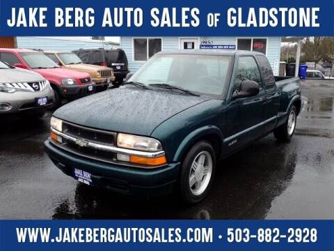 1998 Chevrolet S-10 for sale at Jake Berg Auto Sales in Gladstone OR
