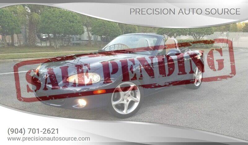 2003 Mazda MX-5 Miata for sale at Precision Auto Source in Jacksonville FL