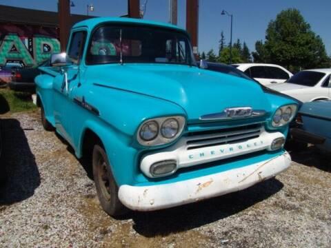 1958 Chevrolet Apache for sale at M Motors in Shoreline WA