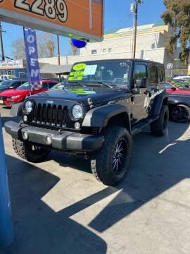 2018 Jeep Wrangler JK Unlimited for sale at LA PLAYITA AUTO SALES INC - 3271 E. Firestone Blvd Lot in South Gate CA