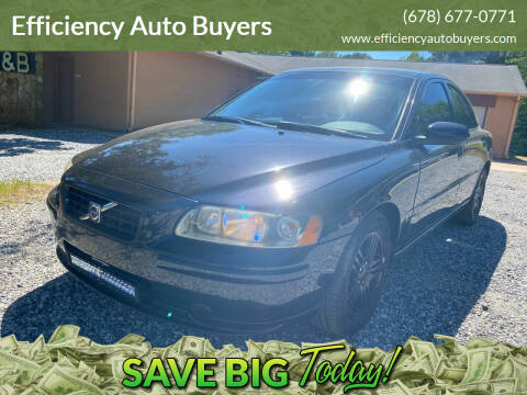 2007 Volvo S60 for sale at Efficiency Auto Buyers in Milton GA