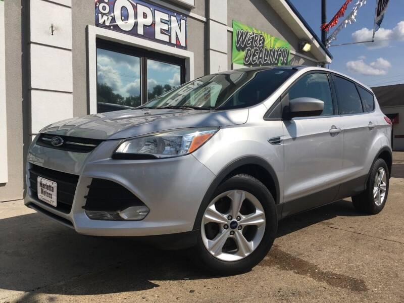 2013 Ford Escape for sale at MARIETTA MOTORS LLC in Marietta OH