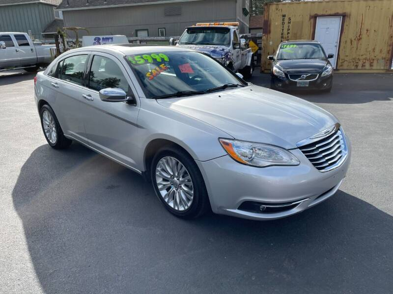 2011 Chrysler 200 for sale at 3 BOYS CLASSIC TOWING and Auto Sales in Grants Pass OR