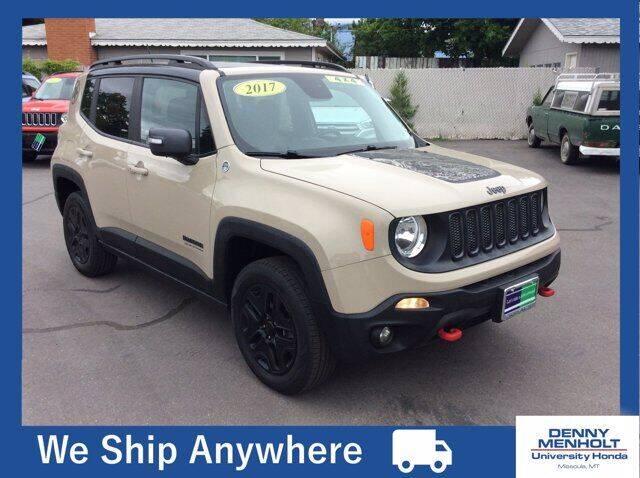 2017 Jeep Renegade for sale at Carmart 360 Missoula in Missoula MT