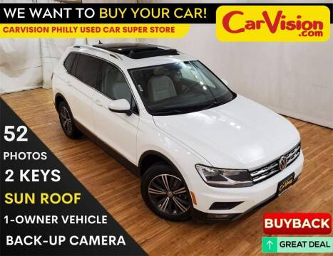 2018 Volkswagen Tiguan for sale at Car Vision Mitsubishi Norristown - Car Vision Philly Used Car SuperStore in Philadelphia PA