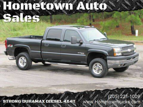 2003 Chevrolet Silverado 2500HD for sale at Hometown Auto Sales - Trucks in Jasper AL