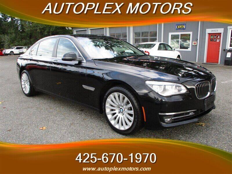 2013 BMW 7 Series for sale at Autoplex Motors in Lynnwood WA