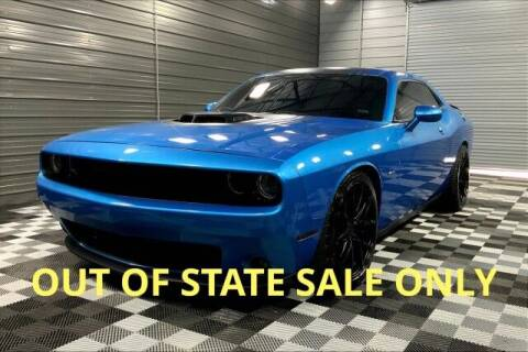 2016 Dodge Challenger for sale at TRUST AUTO in Sykesville MD
