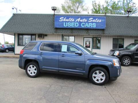2012 GMC Terrain for sale at SHULTS AUTO SALES INC. in Crystal Lake IL