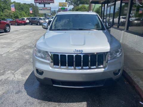 2011 Jeep Grand Cherokee for sale at J Franklin Auto Sales in Macon GA