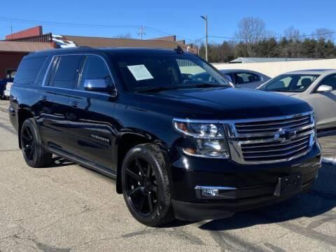 2015 Chevrolet Suburban for sale at Miller Auto Sales in Saint Louis MI