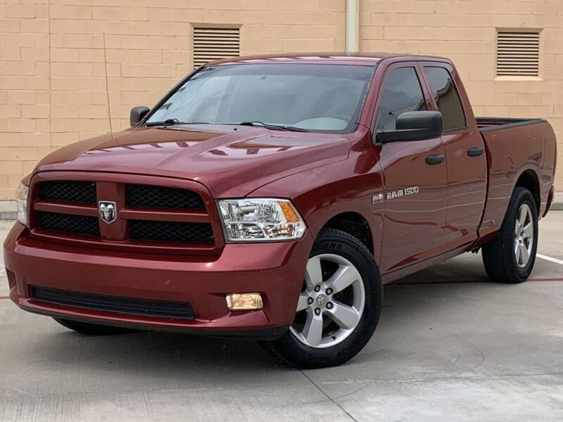 2012 RAM Ram Pickup 1500 for sale at Executive Motor Group in Houston TX