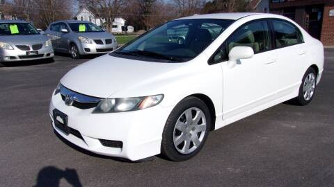 2010 Honda Civic for sale at Eagle's Wings Auto Sales in Hilton NY