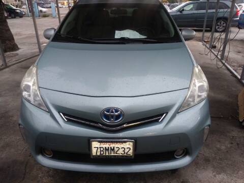 2013 Toyota Prius v for sale at AJ'S Auto Sale Inc in San Bernardino CA