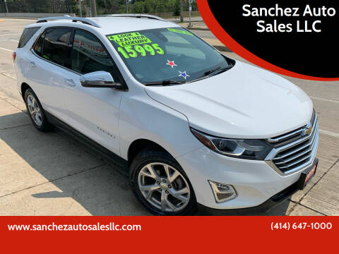 2018 Chevrolet Equinox for sale at Sanchez Auto Sales LLC in Milwaukee WI