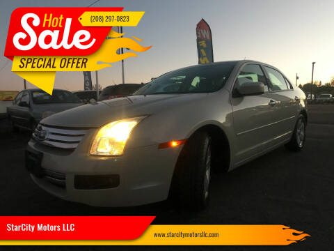2008 Ford Fusion for sale at StarCity Motors LLC in Garden City ID