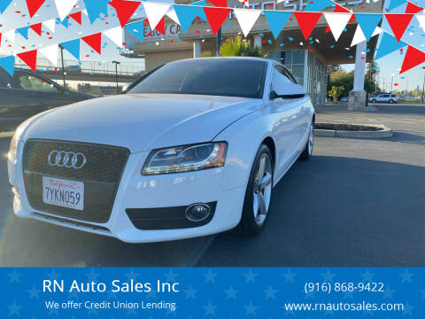 2010 Audi A5 for sale at RN Auto Sales Inc in Sacramento CA