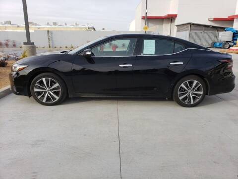 2020 Nissan Maxima for sale at ELITE MOTORS in Victorville CA