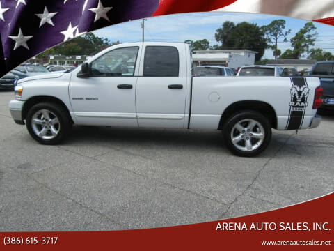 2007 Dodge Ram Pickup 1500 for sale at ARENA AUTO SALES,  INC. in Holly Hill FL