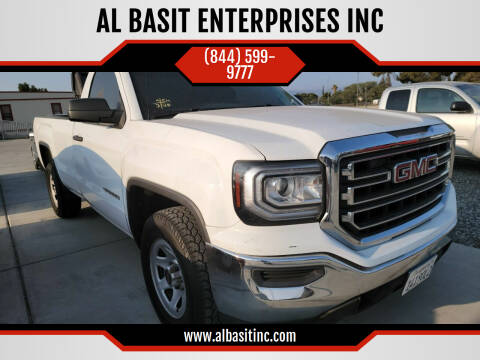 2016 GMC Sierra 1500 for sale at AL BASIT ENTERPRISES INC in Riverside CA