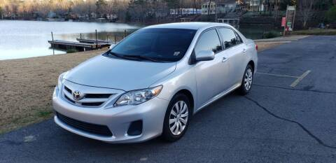 2012 Toyota Corolla for sale at Village Wholesale in Hot Springs Village AR