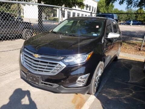 2020 Chevrolet Equinox for sale at Don Herring Mitsubishi in Plano TX