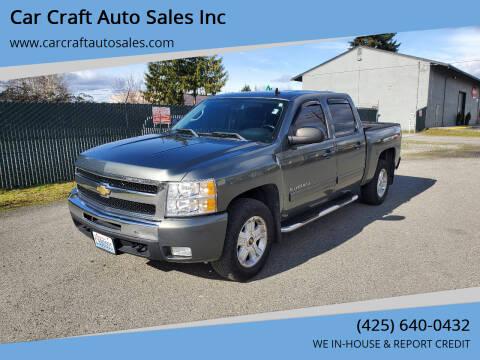 2011 Chevrolet Silverado 1500 for sale at Car Craft Auto Sales Inc in Lynnwood WA
