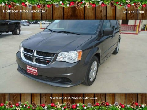 2015 Dodge Grand Caravan for sale at Houston Auto Emporium in Houston TX