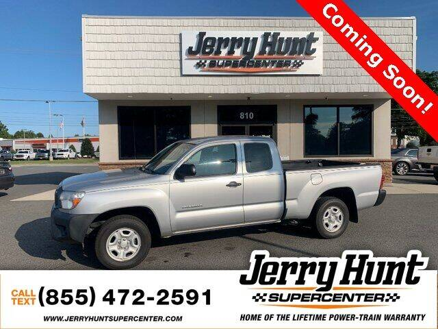 2012 Toyota Tacoma for sale at Jerry Hunt Supercenter in Lexington NC