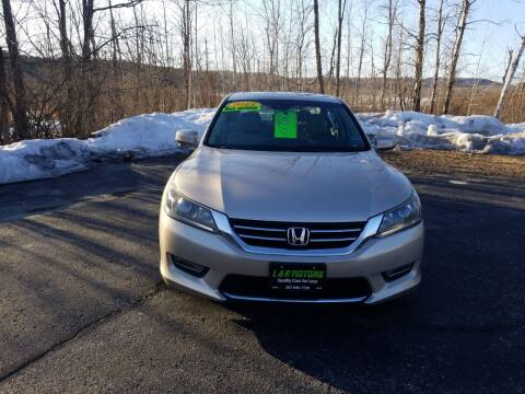 2013 Honda Accord for sale at L & R Motors in Greene ME