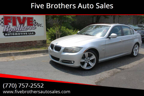 2010 BMW 3 Series for sale at Five Brothers Auto Sales in Roswell GA