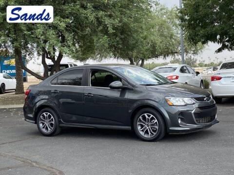 2019 Chevrolet Sonic for sale at Sands Chevrolet in Surprise AZ