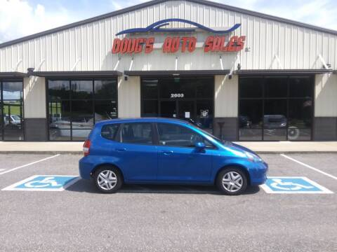 2008 Honda Fit for sale at DOUG'S AUTO SALES INC in Pleasant View TN