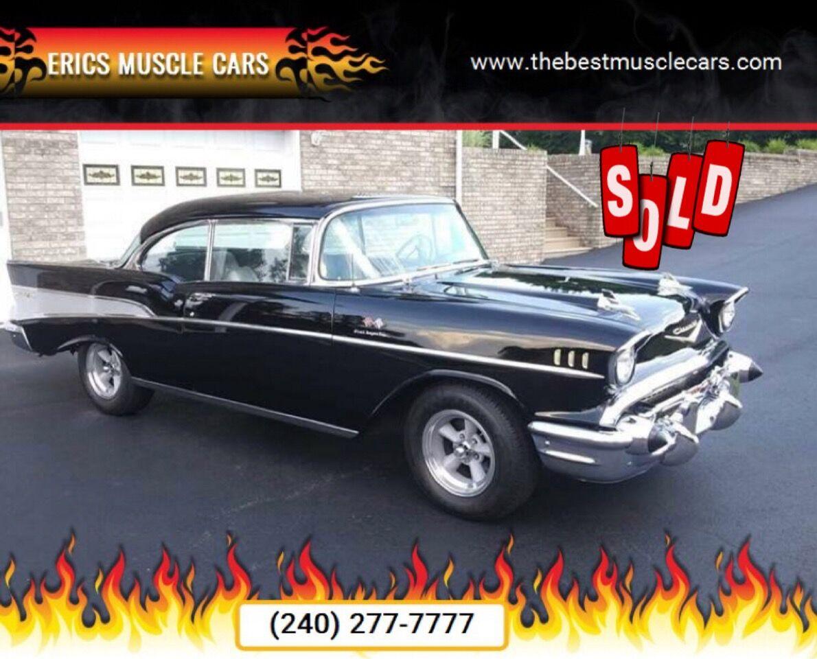 1957 Chevrolet Bel Air SOLD SOLD SOLD