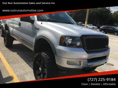 2004 Ford F-150 for sale at Out Run Automotive Sales and Service Inc in Tampa FL