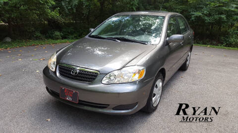 2007 Toyota Corolla for sale at Ryan Motors LLC in Warsaw IN
