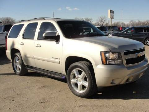 2007 Chevrolet Tahoe for sale at Frieling Auto Sales in Manhattan KS
