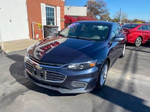 2017 Chevrolet Malibu for sale at Motornation Auto Sales in Toledo OH