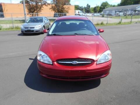 2000 Ford Taurus for sale at MT MORRIS AUTO SALES INC in Mount Morris MI