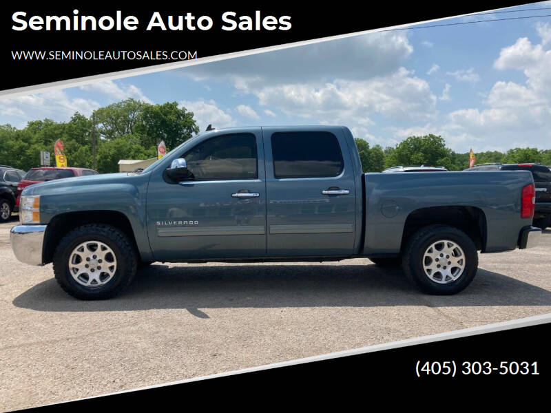 2013 Chevrolet Silverado 1500 for sale at Seminole Auto Sales in Seminole OK